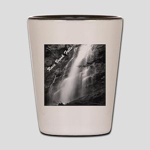 Lower Falls (B&W) Shot Glass