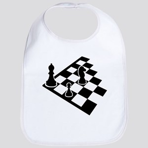 Chessboard chess Bib