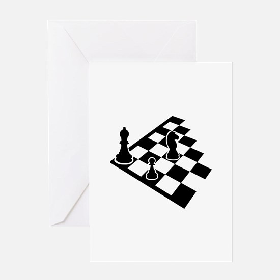 Chessboard chess Greeting Card