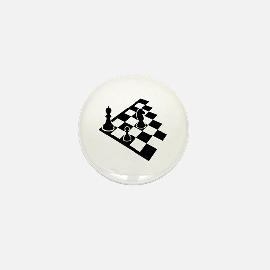 Chessboard chess Mini Button