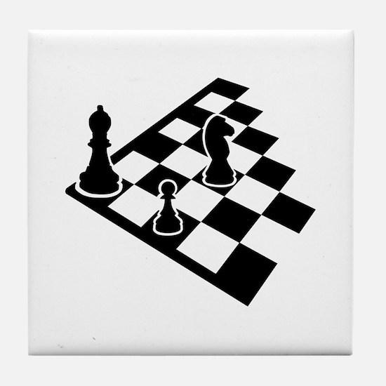 Chessboard chess Tile Coaster