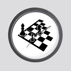 Chessboard chess Wall Clock
