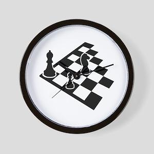 Chessboard chess Wall Clock
