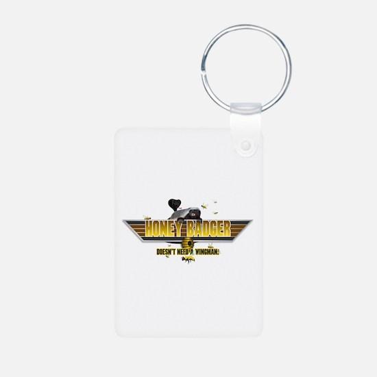 Honey Badger Top Gun Wingman Keychains