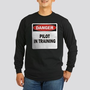 Pilot Long Sleeve Dark T-Shirt