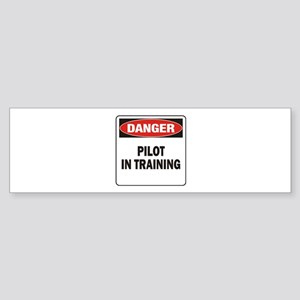 Pilot Sticker (Bumper)