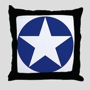 U.S. Star Throw Pillow