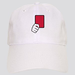 Referee red card Cap