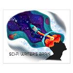 Scifi Writer's Brain - By Cas Fick Small Poste
