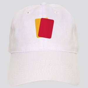 Referee red yellow card Cap