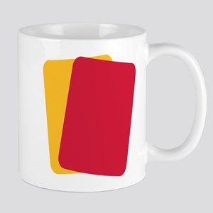 Referee red yellow card Mug