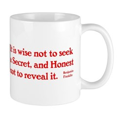 Ben Franklin: Secret Mug