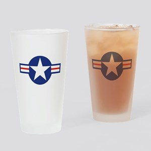 Star & Bar Drinking Glass