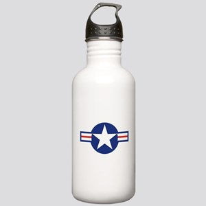 Star & Bar Stainless Water Bottle 1.0L