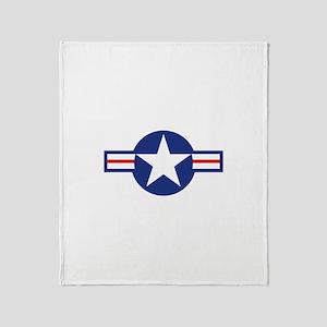 Star & Bar Throw Blanket