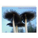 Magical Mystical Mushrooms Wall Calendar
