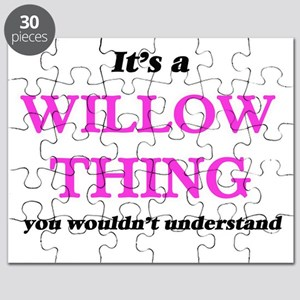 It's a Willow thing, you wouldn't u Puzzle