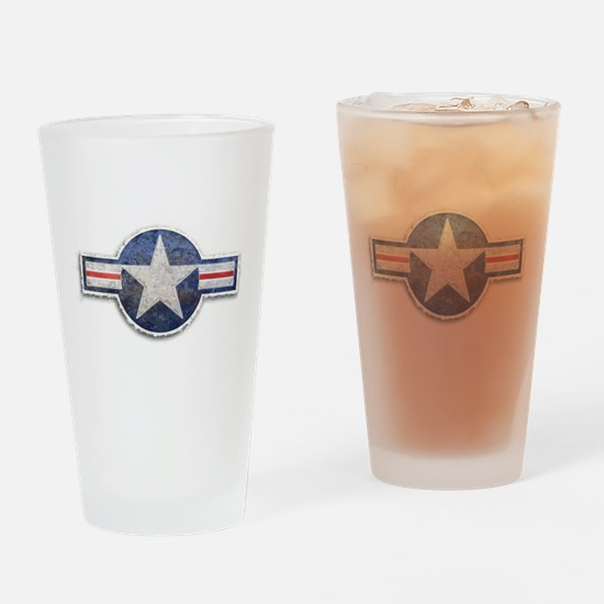 USAF US Air Force Roundel Drinking Glass
