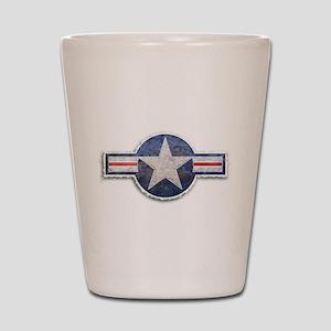 USAF US Air Force Roundel Shot Glass