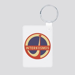 Interkosmos Aluminum Photo Keychain