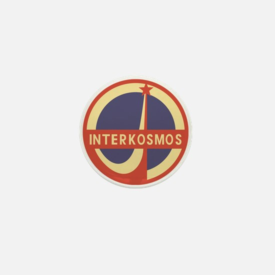 Interkosmos Mini Button