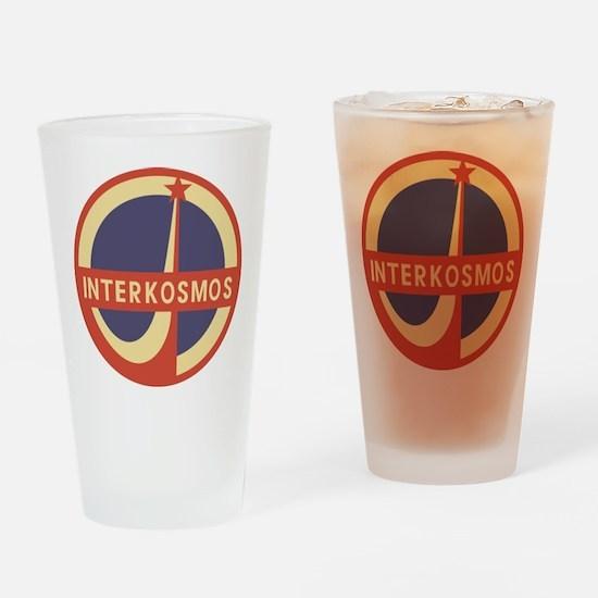 Interkosmos Drinking Glass