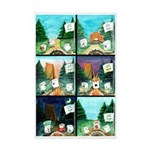 Camp Revpit Marshmallows Posters Mini Poster Print