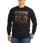 Pirates Design Long Sleeve Dark T-Shirt