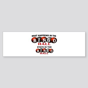 BINGO Sticker (Bumper)