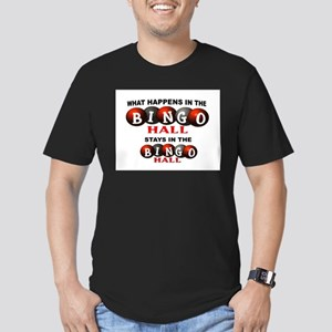 BINGO Men's Fitted T-Shirt (dark)