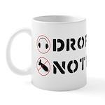 Drop Beats Not Bombs Mug
