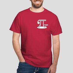 Funny Baseball Pi-tcher Dark T-Shirt