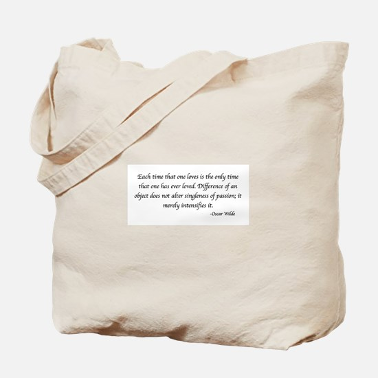 Funny Quotes wilde Tote Bag