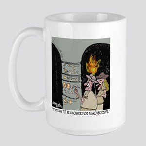 Passover Recipe in Hieroglyphics Large Mug