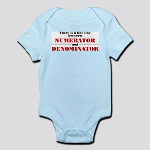 Numerator and Denominator Infant Bodysuit