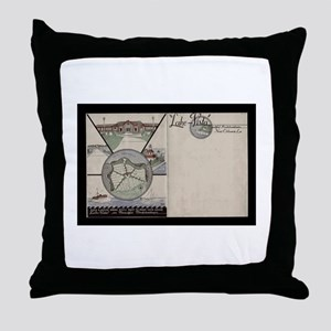 Lake Vista Throw Pillow