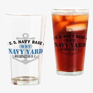 US Navy Yard Base Drinking Glass