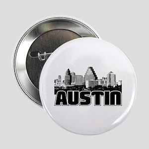 """Austin Skyline 2.25"""" Button"""