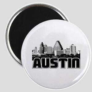 Austin Skyline Magnet