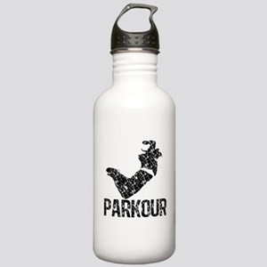 Parkour, Distressed Stainless Water Bottle 1.0L