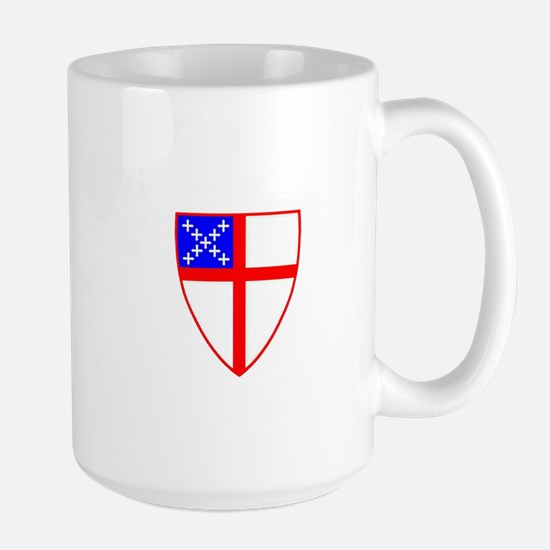 Episcopal Shield Large Mug