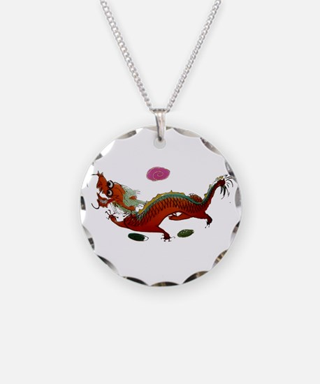 Chinese Dragon II Necklace