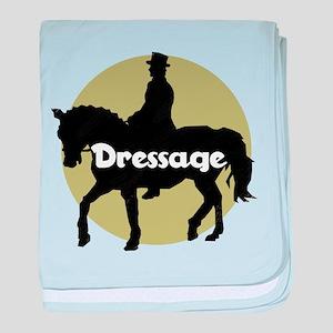 Dressage Circle baby blanket