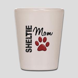 Sheltie Mom 2 Shot Glass