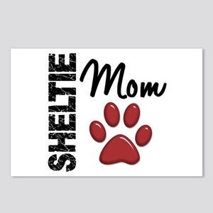 Sheltie Mom 2 Postcards (Package of 8)