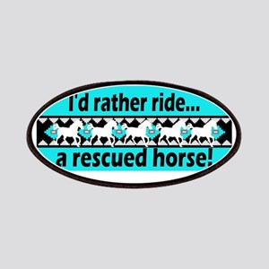 Horse Rescue Patches