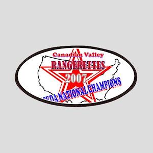 Champion Rangerettes Patches