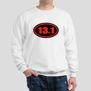 13.1 Half Marathon Oval Sweatshirt