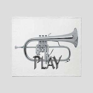 PLAY- FLUGELHORN Throw Blanket