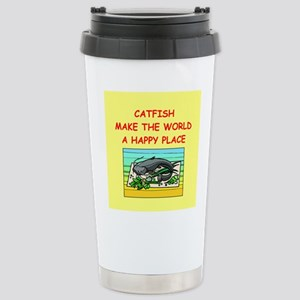 catfish Stainless Steel Travel Mug